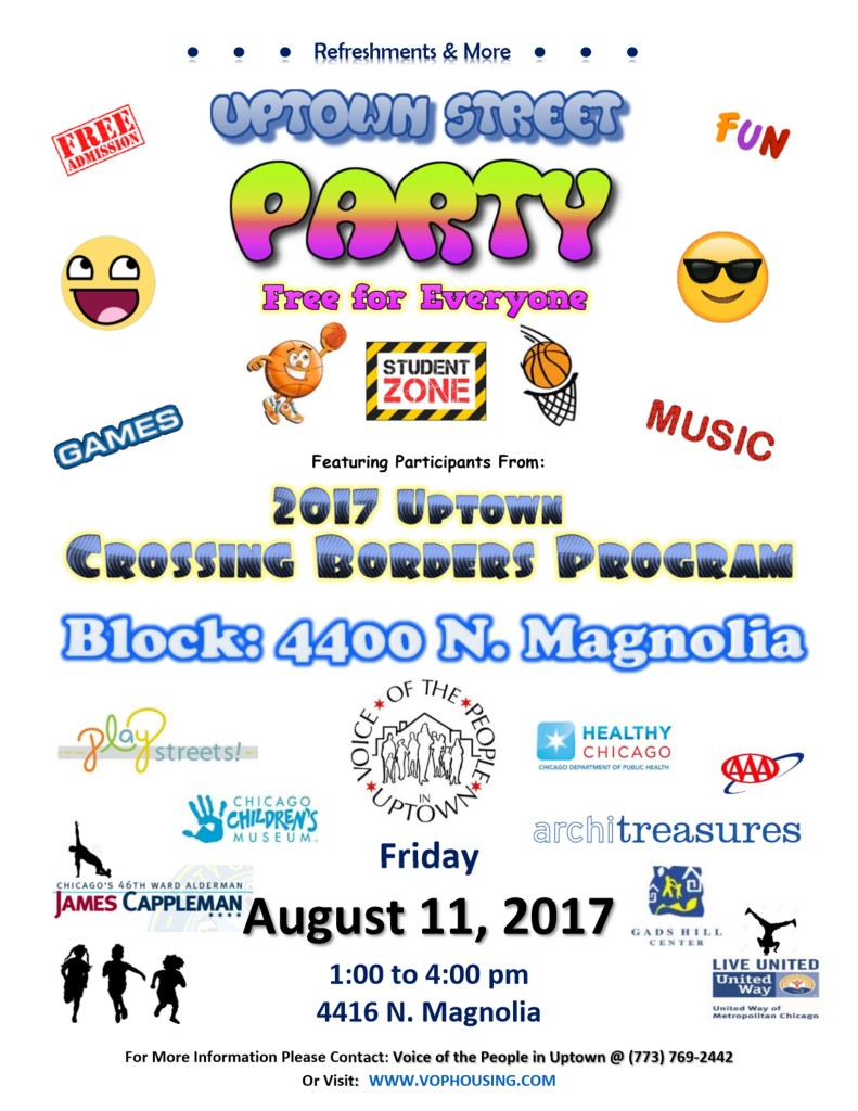 Playstreets #3 August 11th 2017